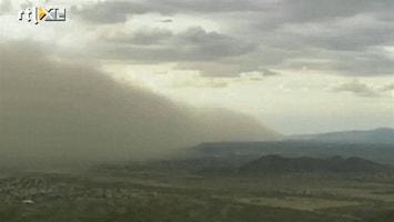 RTL Nieuws Ergste zandstorm in 80 jaar treft Arizona