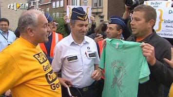 RTL Nieuws Vlamingen en Walen pesten elkaar bij fietsevenement