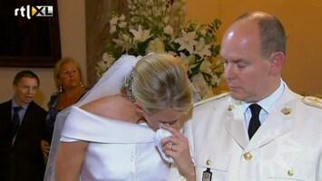 RTL Boulevard Albert en Charlene over huwelijk