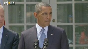RTL Nieuws 'De druk lijkt van de ketel voor Obama'