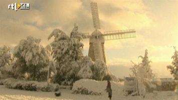 RTL Nieuws Israël onder dik pak sneeuw
