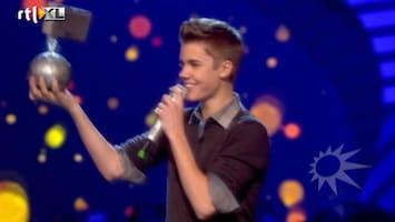 RTL Boulevard Lady Gaga en Justin Bieber grote winnaars EMA's