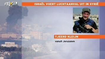 RTL Nieuws Verschillende verhalen over doelwit Israëlische luchtaanval