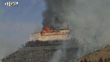 RTL Nieuws Jongens veroorzaken kasteelbrand