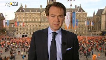 RTL Nieuws De Dam 8:30 uur: Het begint nu echt druk te worden
