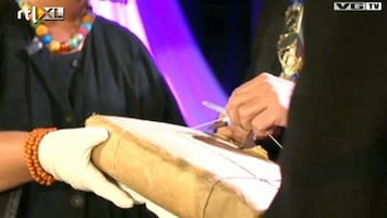 Editie NL Mysterieus pakket na 100 jaar geopend