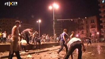 RTL Nieuws Jongeren Caïro rellen met politie
