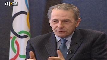 RTL Nieuws Uit het archief: Rick Nieman interviewt IOC-voorzitter Rogge