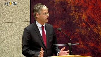 RTL Nieuws Oppositie geeft Rutte II pak voor z'n broek