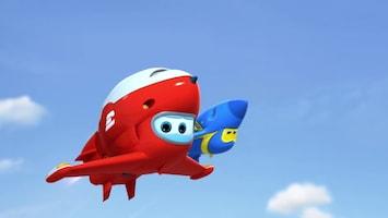 Super Wings Badderen met Boonying