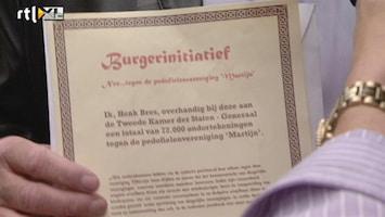 RTL Nieuws 72.000 handtekeningen voor verbod pedoclub