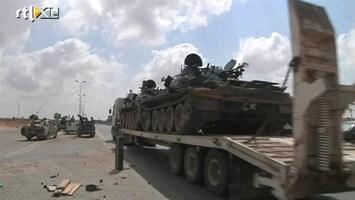 RTL Nieuws Strijd rond Khadaffi-bolwerk