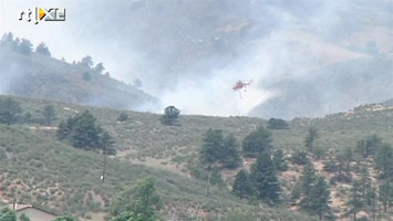 RTL Nieuws 150 km2 bos in brand in Colorado