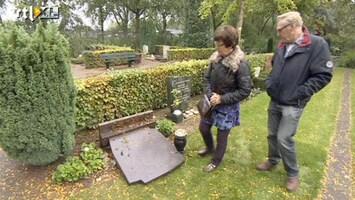 RTL Nieuws Graven vernield op begraafplaats Barendrecht