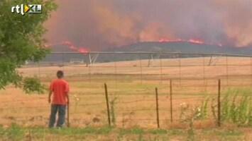 RTL Nieuws 19 brandweermannen dood door bosbrand