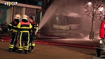 RTL Nieuws Aardgasbus rijdt tegen gebouw