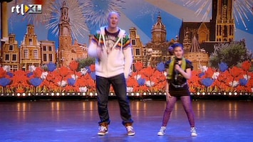 Holland's Got Talent Compilatie rappers