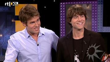 RTL Boulevard Nick en Simon in de studio