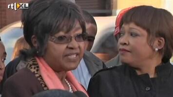 RTL Nieuws Winnie: het gaat beter met Madiba