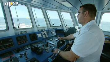 RTL Nieuws 'Nieuwe vaarroutes Noordzee stukken veiliger'