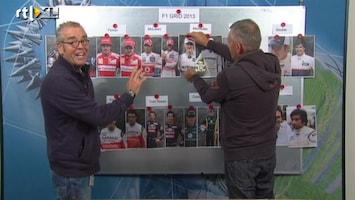 RTL GP: Formule 1 De F1-grid 2013 volgens Allard en Olav
