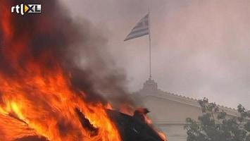 RTL Nieuws Athene in vuur en vlam