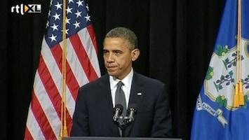 RTL Nieuws Emotionele speech Obama: bescherm de kinderen