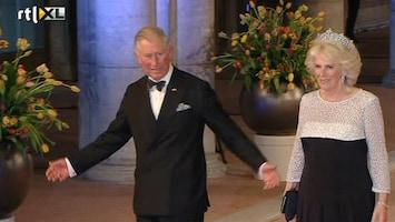 RTL Nieuws Aankomst buitenlandse vorsten bij afscheidsdiner