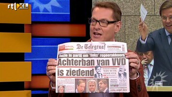 RTL Boulevard Mark Rutte vs Telegraaf