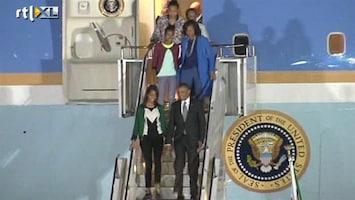 RTL Nieuws Obama aangekomen in Zuid-Afrika