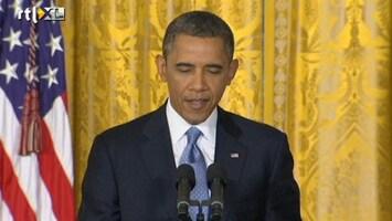 RTL Nieuws Obama bezorgd over schuldenplafond