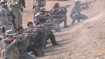 RTL Nieuws Dodental VS in Afghanistan op 2000