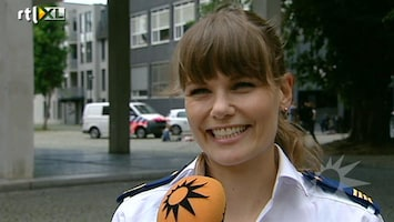 RTL Boulevard Op de set bij Flikken Maastricht
