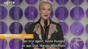 RTL Boulevard Uitreiking Golden Globes