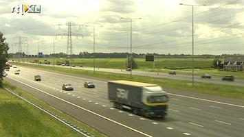 RTL Nieuws Doorgaand snelwegen allemaal breder