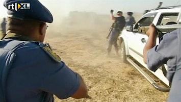 RTL Nieuws Zuid-Afrika: mijnwerkers zelf schuldig aan bloedbad