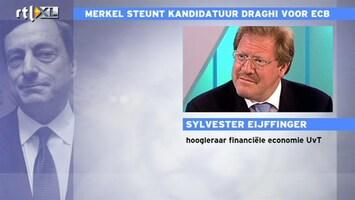 RTL Z Nieuws Eijffinger: Draghi is wel iemand die uit een Zuidelijk land komt