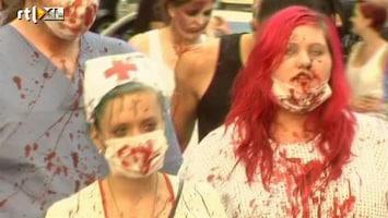 RTL Nieuws Zombies veroveren Frankfurt