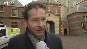 RTL Nieuws Dijsselbloem zwijgt over voorzitterschap Eurogroep