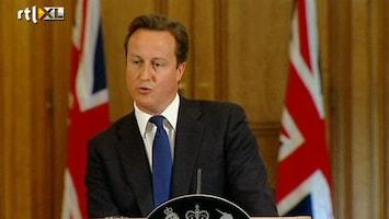 RTL Nieuws Cameron pakt Britse pers aan