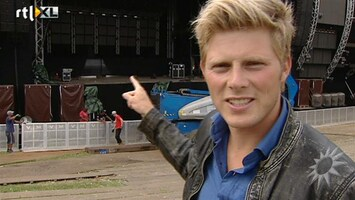 RTL Boulevard Tim Douwsma geeft rondleiding Dutch Valley