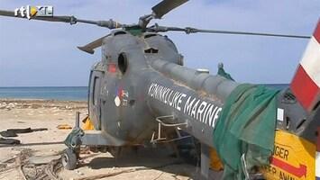 RTL Nieuws Nederland wil helikopter Libië terug
