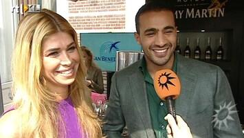 RTL Boulevard Badr en Estelle bezochten Talkies feestje