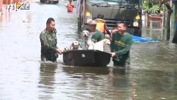 RTL Nieuws Reizen naar overstroomd Bangkok afgeraden