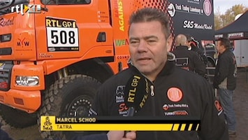 RTL GP: Dakar Pre-proloog Interview Marcel Schoo