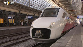 RTL Nieuws NS stelt bouwer Fyra-treinen aansprakelijk