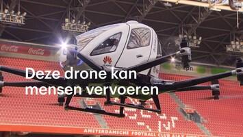 Proefritje: deze drone kan mensen vervoeren
