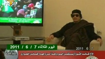 RTL Nieuws Arrestatiebevel voor dictator Khadaffi