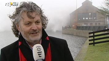 RTL Nieuws Wateroverlast dreigt, Woudagemaal in werking gezet