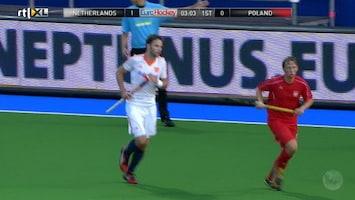Ek Hockey 2013 - Nederland - Polen (heren)